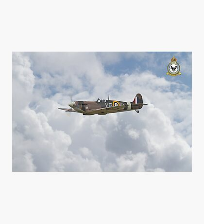 Spitfire - US Eagle Squadron (71 Squadron) Photographic Print