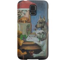 Dogs Playing D&D Samsung Galaxy Case/Skin