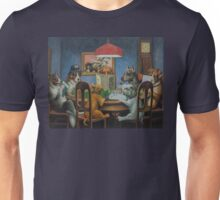 Dogs Playing D&D Unisex T-Shirt