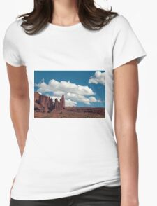 Stone Towers Womens Fitted T-Shirt