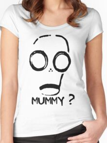 Mummy? Women's Fitted Scoop T-Shirt