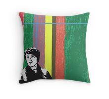 Pop Brit Boy Throw Pillow