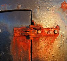 The Rusty Lighthouse Door Hinge by Alexandra Lavizzari