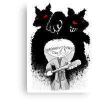 Jenny The Werewolf Hunter Canvas Print