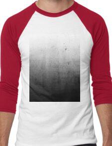 Black Ombre on Concrete Texture Men's Baseball ¾ T-Shirt