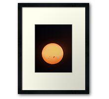 Sunspots Framed Print