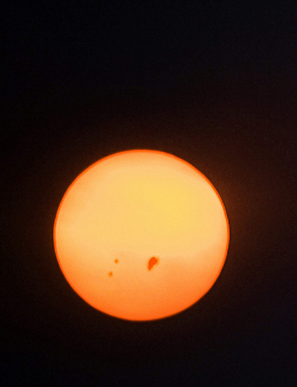 Sunspots by EOS20