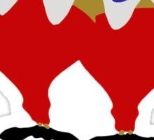 Alice in Wonderland inspired design (Tweedle Dum & Tweedle Dee). Sticker