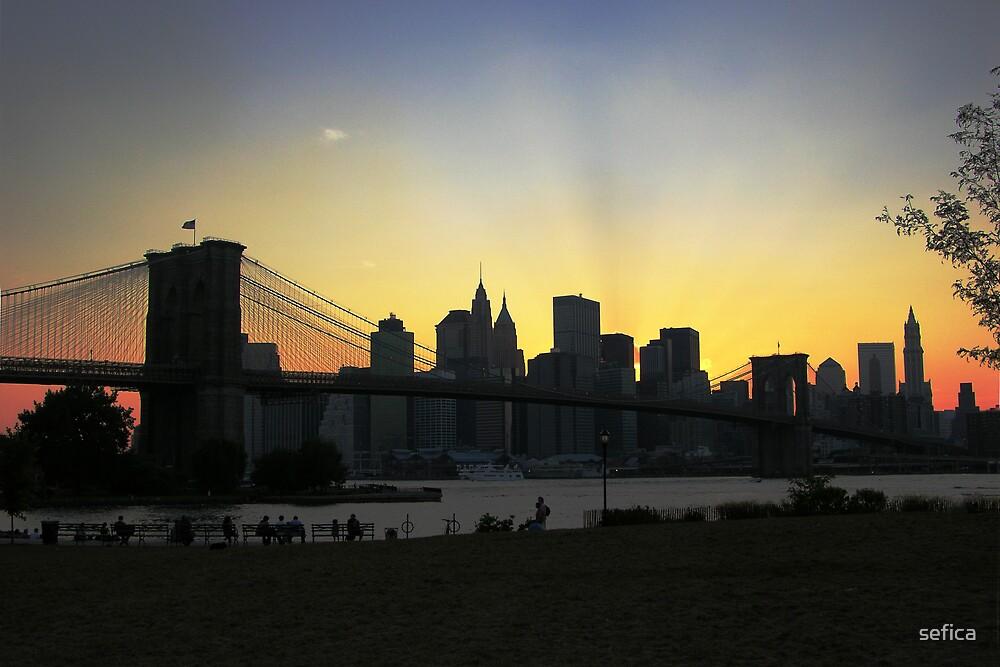 New York Skyline by sefica