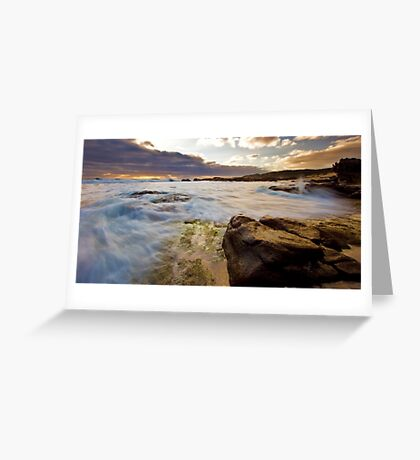 Margaret River seascape Greeting Card