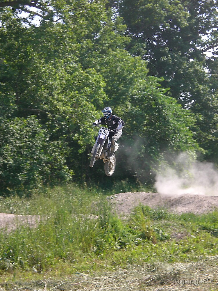 dirtbiking jump by paigeyyy420