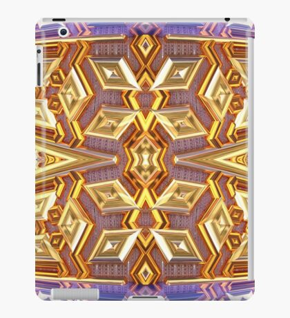 Bronze and Sapphire Pipes iPad Case/Skin
