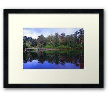 Big Brook Dam - Pemberton Western Australia Framed Print