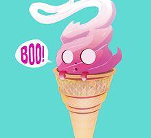Spoopy Ice Cream  by Cloakandbadger