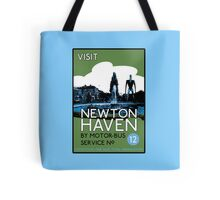 Visit Newton Haven (The World's End) Tote Bag