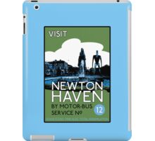 Visit Newton Haven (The World's End) iPad Case/Skin
