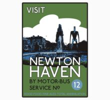 Visit Newton Haven (The World's End) Kids Tee