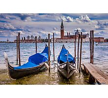 Moored Photographic Print