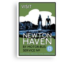 Visit Newton Haven (The World's End) Canvas Print