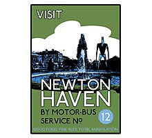 Visit Newton Haven (The World's End) Photographic Print