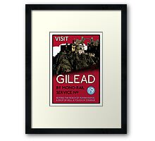 Visit Gilead (The Dark Tower) Framed Print