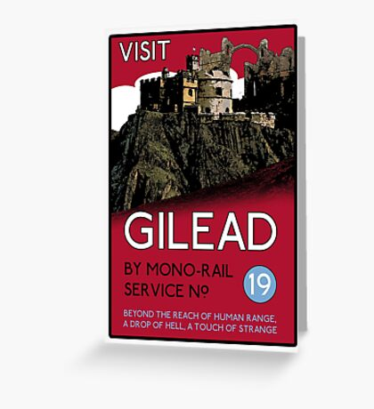 Visit Gilead (The Dark Tower) Greeting Card