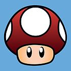Super Mario Mushroom by Lauramazing