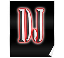 Music D.J, Club, Disc Jockey, Dance, Rock, Pop, Regae Poster