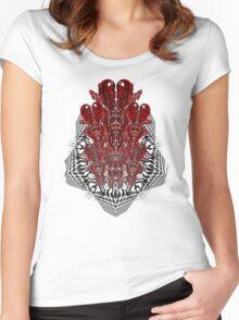 tribalheart 3-d Women's Fitted Scoop T-Shirt