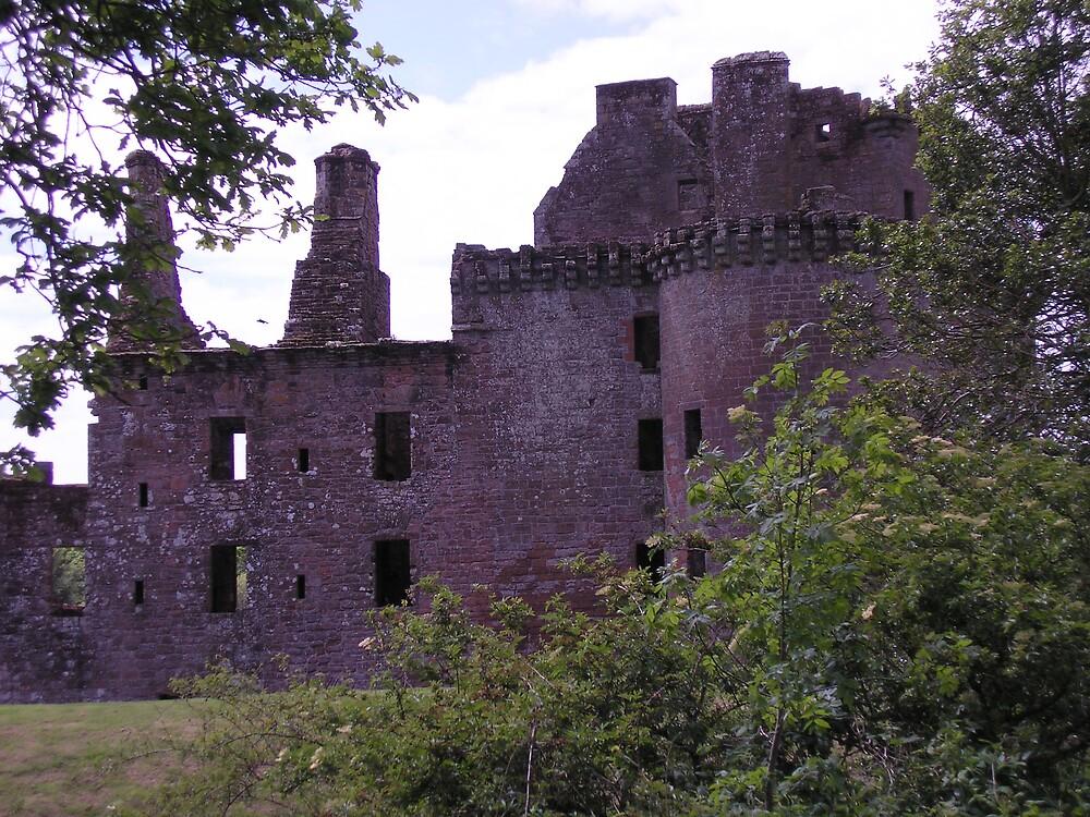 Caerlaverock Castle! by Maddie