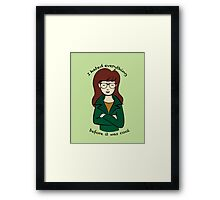 Daria, the Original Hipster Framed Print