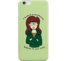 Daria, the Original Hipster iPhone Case/Skin