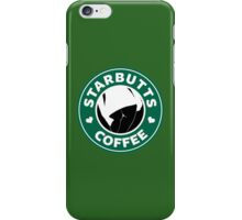 STARBUTTS COFFEE - Sexy Parody iPhone Case/Skin