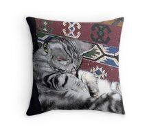 Meditating? Throw Pillow