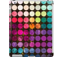 Colorful abstract diameter circles iPad Case/Skin