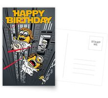 Despicable Escape - Birthday card Greeting Card