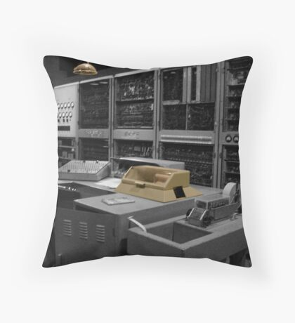 Old Machinery 2  Throw Pillow