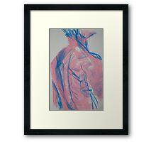 Hot Pink Marine No1 Framed Print