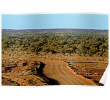 Oodnadatta Track, North Creek Poster