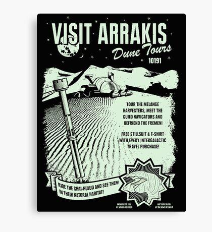visit arrakis Canvas Print