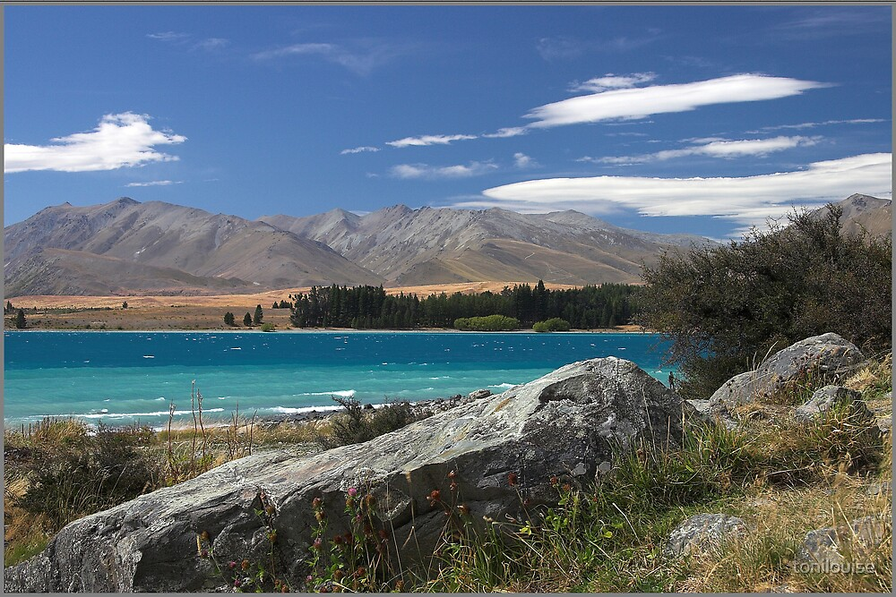 Lake Tekapo by tonilouise