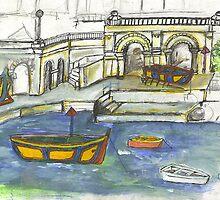 St Julian's Malta by Julie Stewart