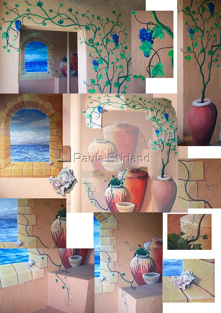 Trompe l'Oeil collage by Paula Stirland