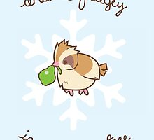 Pidgey Christmas by Steph Hodges