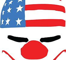 PayDay American Flag Mask by tshirtdesign
