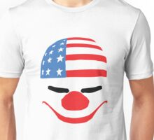 PayDay American Flag Mask Unisex T-Shirt