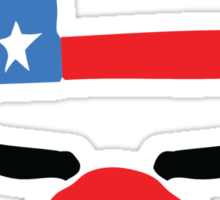 PayDay American Flag Mask Sticker