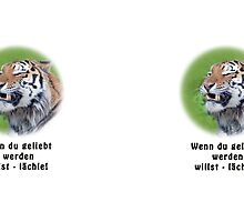 Lächelnder Tiger by Thomas F. Gehrke