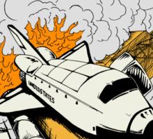 Shuttle Launch Sticker