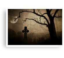Down in the Swamp Canvas Print